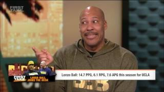 LaVar Ball Highlights On Lonzo Ball, Lakers and NBA Draft | ESPN