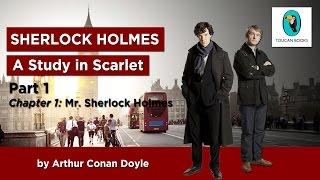 Sherlock Holmes: A STUDY IN SCARLET - AudioBook - Part 1, Chapter 1: Mr. Sherlock Holmes