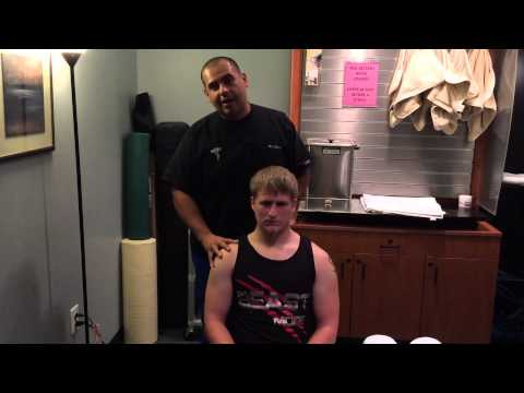 Chiropractic Treatment on Car Accident Patient