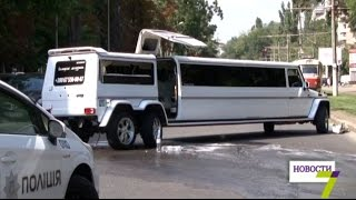ДТП в Одессе: три разбитых авто, испорченная свадьба и скорая