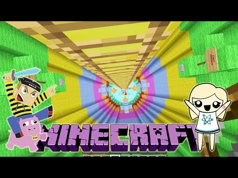 KING OF THE LADDER Minecraft Mini Game Play with Hannah Carr