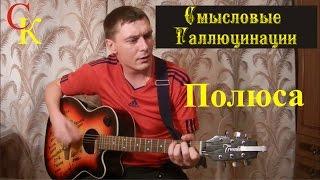 ПОЛЮСА - Смысловые галлюцинации (БОЙ + ПРАВИЛЬНЫЕ аккорды) кавер