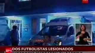 Jugadores heridos en duelo Antofagasta-Cobresal