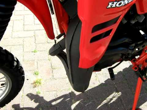 honda mtx 125 restored youtube. Black Bedroom Furniture Sets. Home Design Ideas