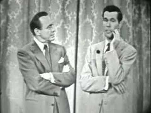 Jack Gives Johnny Carson Advice 1955