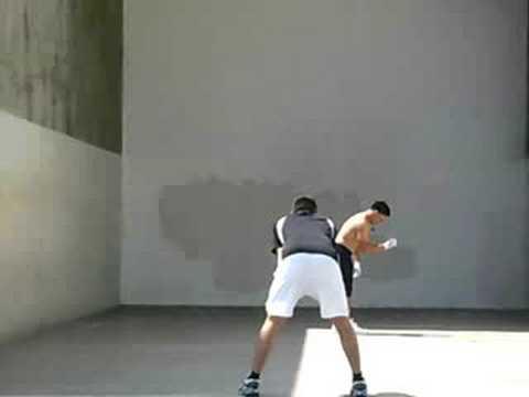 3 WALL HANDBALL (21-UNDER FINALS) SHORTY VS. LUIS MORENO  