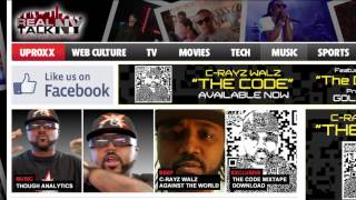 "C-Rayz Walz - ""The Digi-Box"" Produced By Goldhands, Filmed By Steve Tapia"