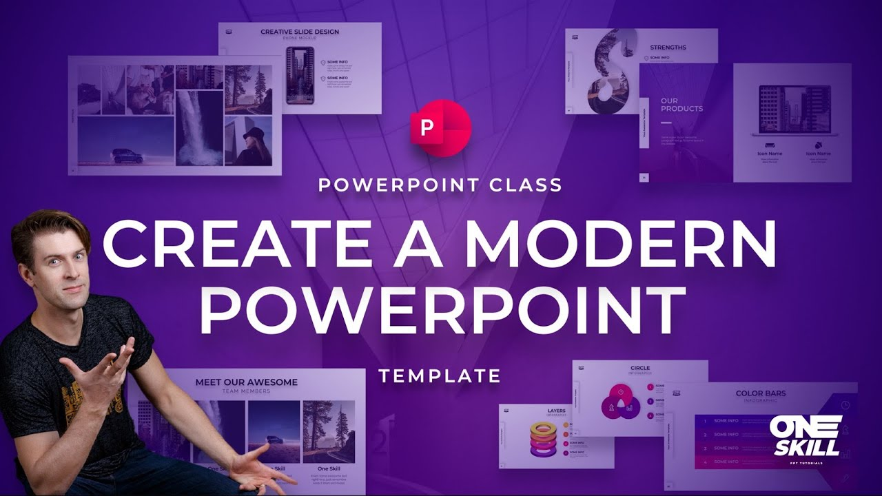 How to Create a Modern PowerPoint Template