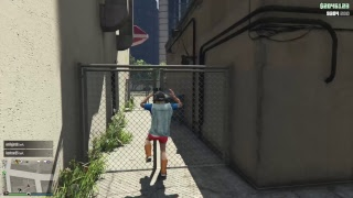GTA Online - Pacific Standard handjob prep, Double Cash shit, fappin on a futon, gangsta shit!