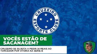 Cruzeiro cria campanha pedindo dinheiro ao torcedor