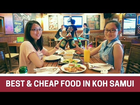 WHERE TO EAT IN KOH SAMUI, THAILAND STREET FOOD & RESTAURANTS  │Travel Thailand Food Guide