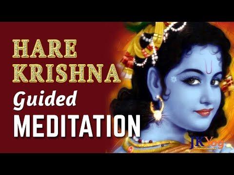 Hare Krishna | Guided Meditation On Krishna | Relaxing Meditation Musi…