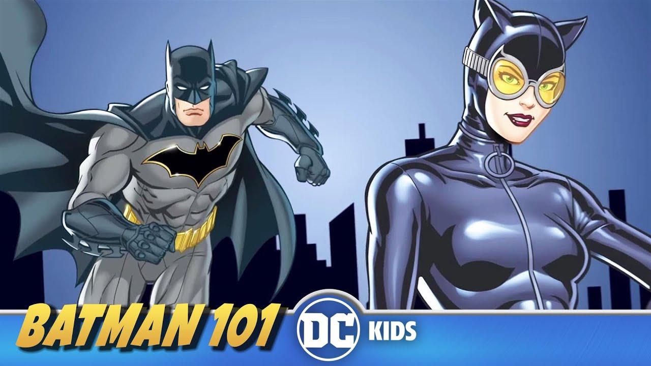 Quem é a Mulher-Gato?   Batman 101 em Português   DC Kids