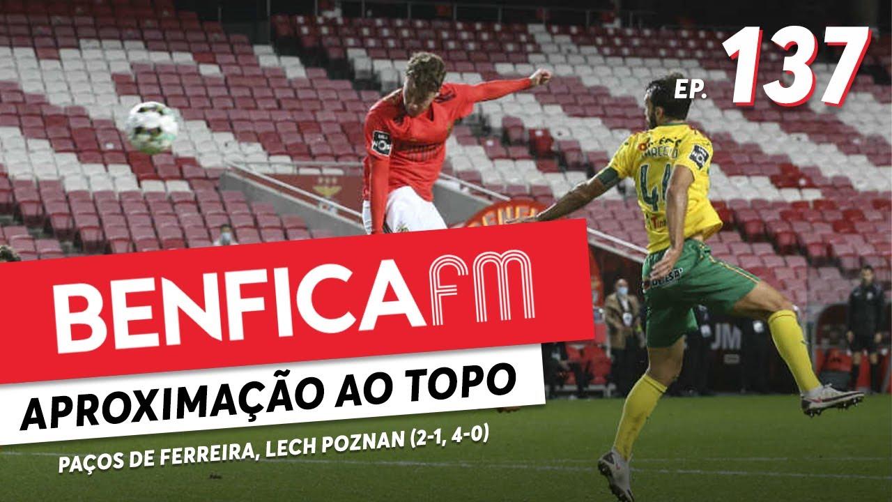 Benfica FM #137 - Benfica x Paços de Ferreira e Lech Poznan (2-1, 4-0) Paulo Garcia