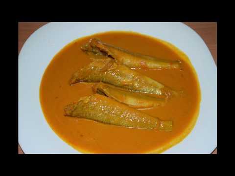 Lady Fish/Kana Fish Curry With Coconut Milk | Mangalorean Kana Maslyechi Kadi - Traditional Recipe