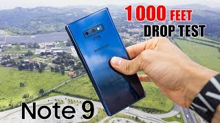 Samsung Galaxy Note 9 DROP TEST - 1,000 FT!  *No Clickbait | (in 4K)