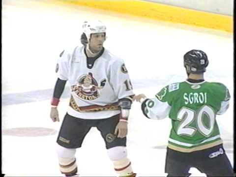 Brian McGrattan vs Mike Sgroi AHL Mar 13/05