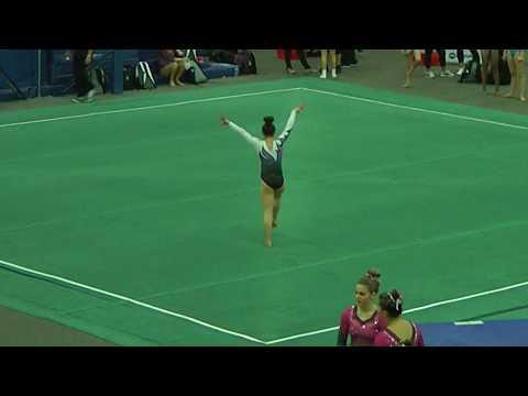 Emma Wehry Floor - 2018 Level 10 Regionals - Level 10