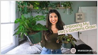 Unboxing My Hirt's Gardens Order