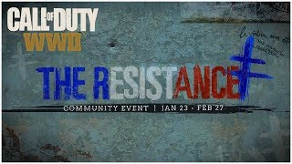 """""""The Resistance"""" NEW DLC Division + Weapons in COD WW2 (Resistance DLC Trailer)"""