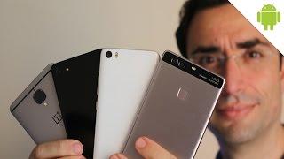 Sfida d'Oriente: OnePlus 3 vs Huawei P9 Plus vs Zuk Z2 vs Xiaomi Mi5