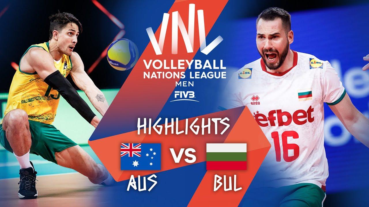 Download AUS vs. BUL - Highlights Week 1   Men's VNL 2021