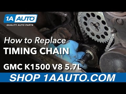 How to Install Replace Timing Chain 1996-99 GMC K1500 5.7L