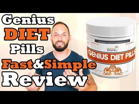 Genius Diet Pills by The Genius Brand  Review