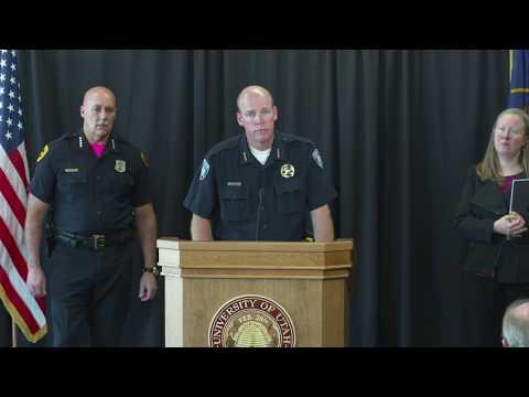 10/23/18 University of Utah Press Conference (Shooting)