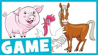 Learn Farm Animals | What Is It? Game for Kids | Maple Leaf Learning