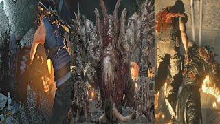 Resident Evil 3 Remake - All Nemesis Kills (All Deaths From Nemesis) RE3 Remake 2020