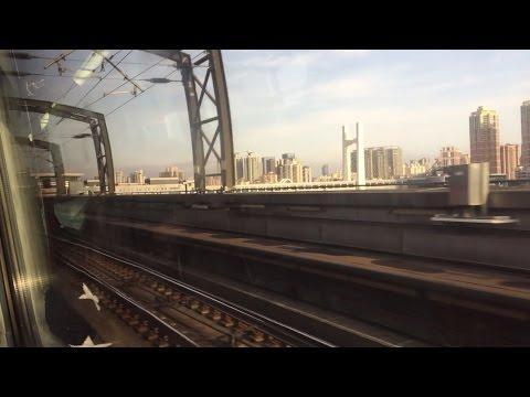 Mass Transit Railway HD: Riding Metro Cammell MLR Train from Fanling to Lok Ma Chau (China Side)