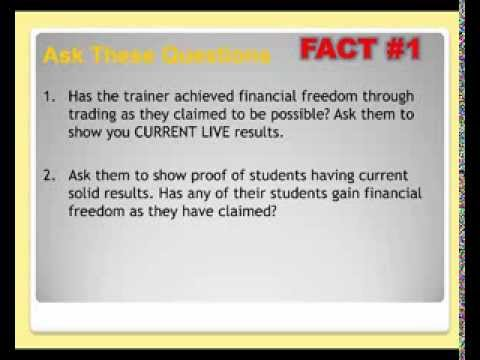 Forex Trading in Singapore? Brutal Facts (WATCH THIS.) Don't get scammed.