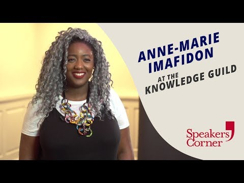 Anne-Marie Imafidon Interview At The Knowledge Guild [22nd Oct 2018]