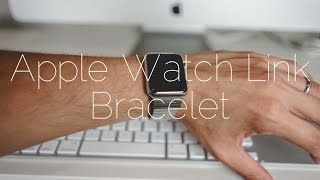 Apple Watch Link Bracelet Unboxing and Sizing