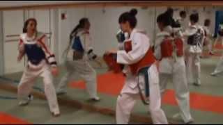 Stage Taekwondo Korea Club Houdeng Belgique VS Club taekwondo Benavente Espagne