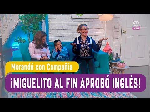 ¡Miguelito al fin aprobó Inglés! - Morandé con Compañía 2017