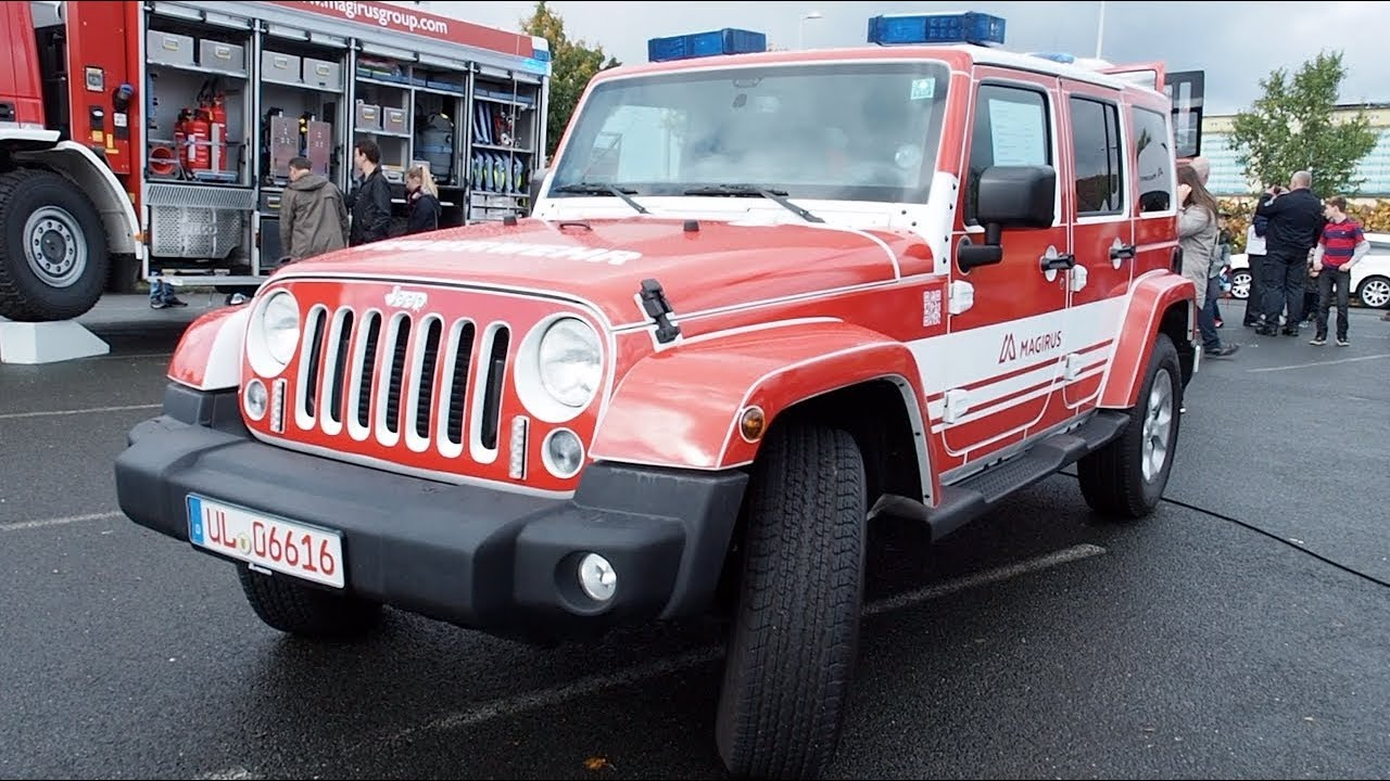 Jeep Wrangler Fire Truck 2017 In Detail Review Walkaround Interior Exterior