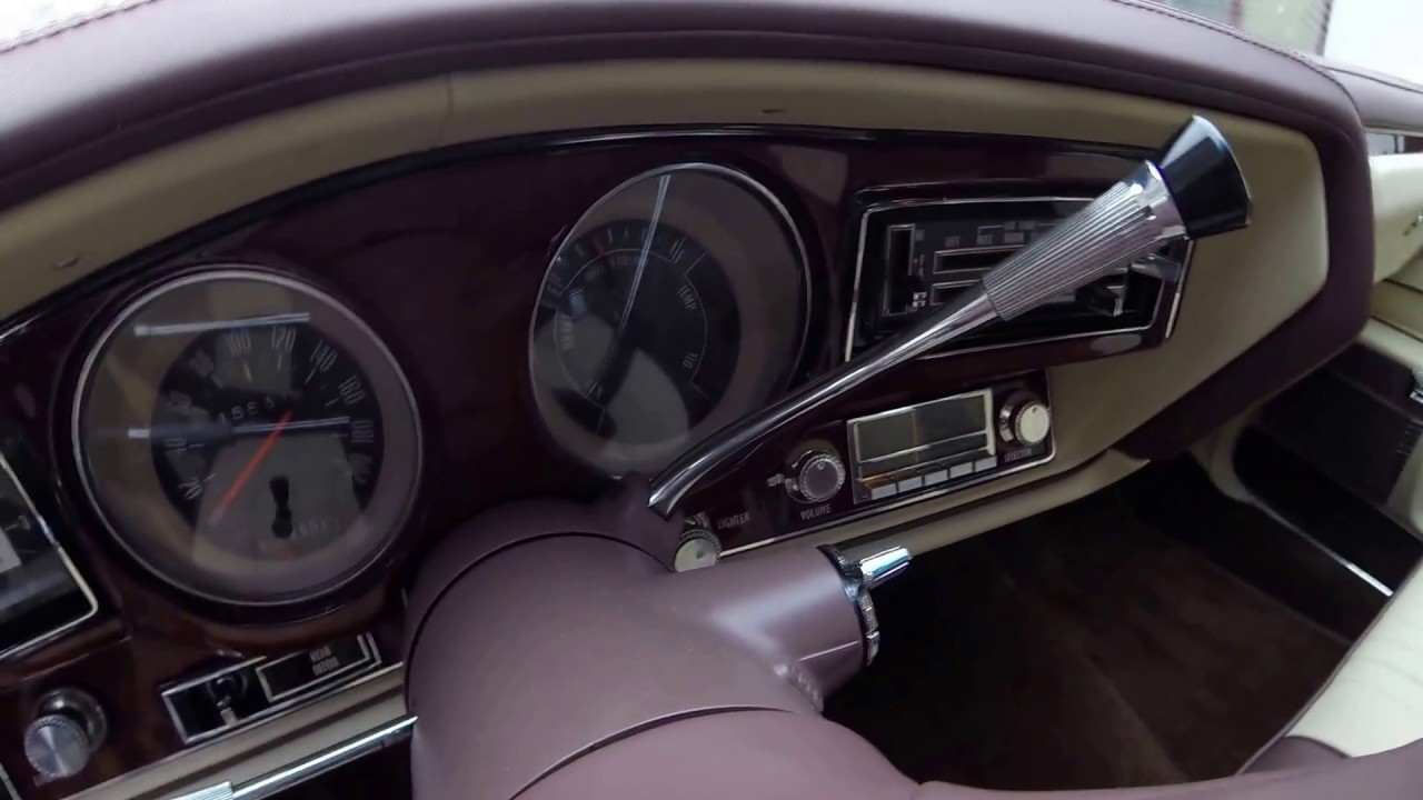 1976 Buick Regal Interior After Restoration Youtube