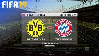 FIFA 19 - Borussia Dortmund vs. FC Bayern München @ Signal Iduna Park