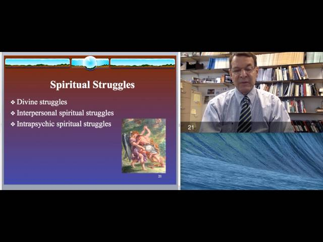 Dr. Ken Pargament - Psychotherapy & Spirituality