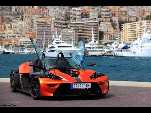Ride in KTM X-Bow GT through Monaco with shooting - YouTube