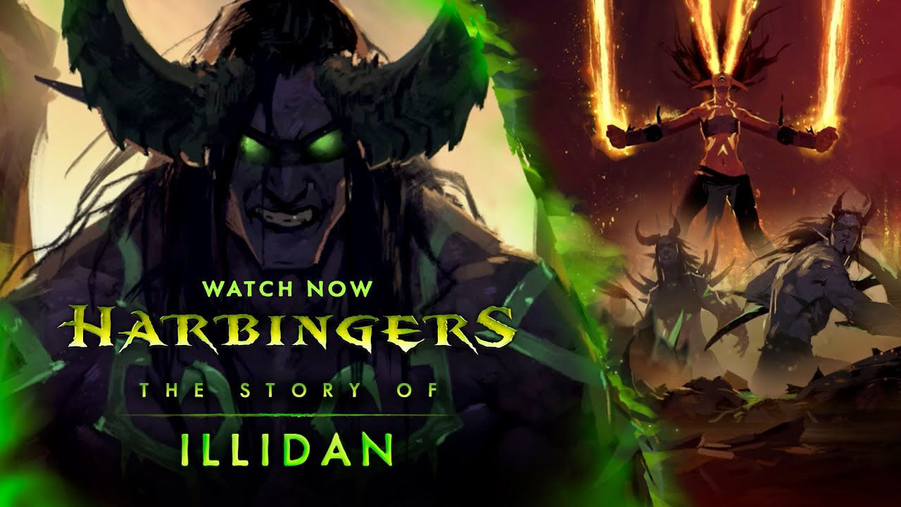 Harbingers - Illidan - YouTube