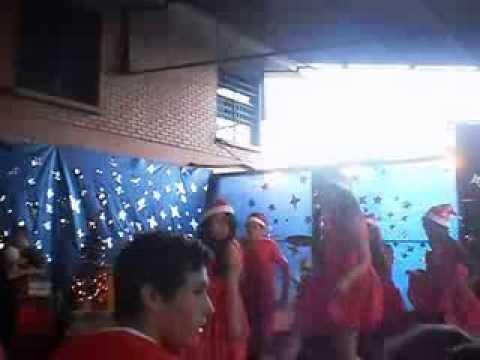 Apresentação de Natal na escola David Barcelos Cachoeira do Sul 2013