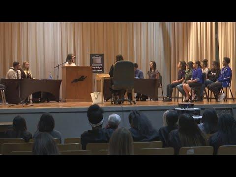 Estacado High School students participate in teen court