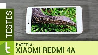 Autonomia do Xiaomi Redmi 4A | Teste oficial de bateria do TudoCelular