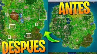 HIDDEN SECRETS IN THE NEW FORTNITE MAP! (After METEORITE)
