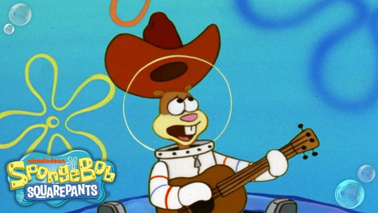 Sandys texas song 🎶 tuesdaytunes spongebob