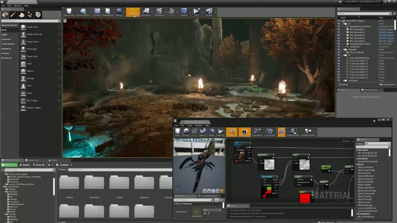 Unreal Engine 4 22 released