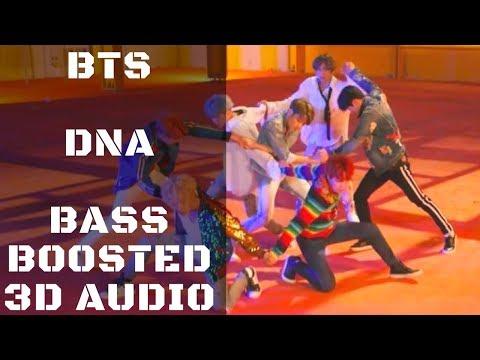 BTS DNA  | Bass Boosted 3D Audio | KittenPunch Clean Bass Edition [HD]